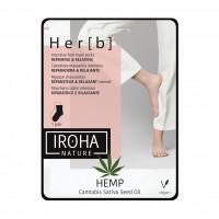 Iroha Nature Her[b] Cannabis Lábmaszk